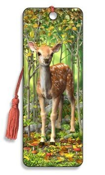 Fawn 3D Bookmark