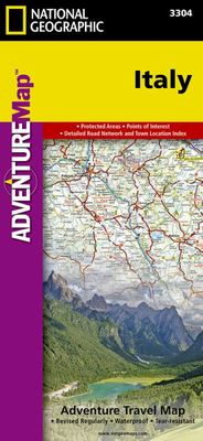 Map Italy - National Geographic AdventureMap