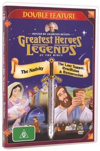 DVD Greatest Heroes - The Nativity, Last Supper, Crucifixion and Resurrection