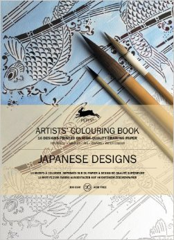 Japanese Designs Colouring Book