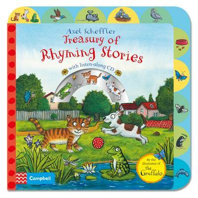 Treasury of Rhyming Stories with CD (Axel Scheffler)