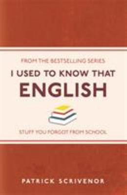 English (I Used to Know That)