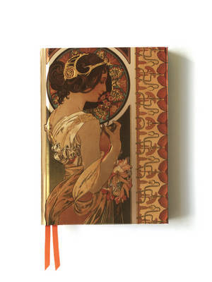 Mucha Cowslip and Documents Notebook