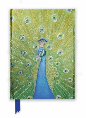 Peacock in Blue & Green (Foiled Journal)