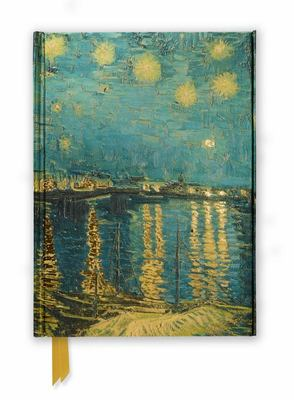 Van Gogh Starry Night Over the Rhone (Foiled Journal)