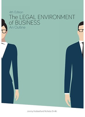 The legal environment of business : an outline 4th edition