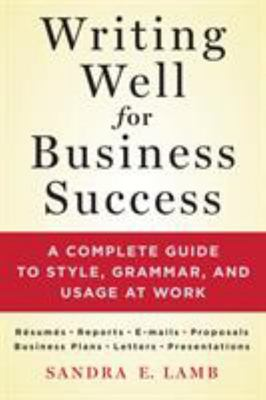 Writing Well for Business Success