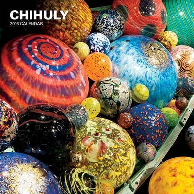 Wall Calendar Chihuly: 2016