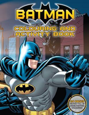 Batman Colouring and Activity Book