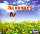 What Can You See in Summer? (Acorn Seasons)