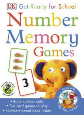 Number Memory Games (Get Ready for School)