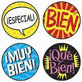 Spanish Dot Stickers (800)
