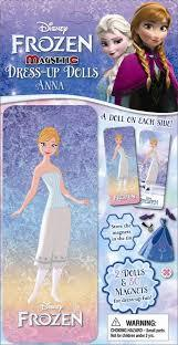 Magnetic Dress-Up Doll, Anna (Disney Frozen)