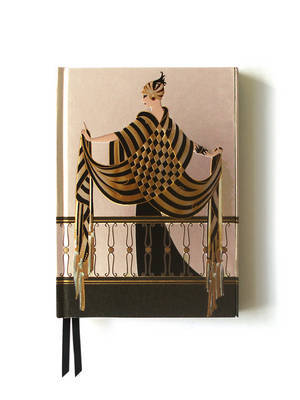 Erte the Balcony (Foiled Journal)