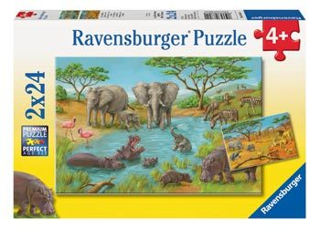 In The Wild Puzzle 2x24pc RB08891-1