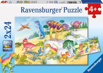 Dinos Puzzle 2x24pc RB09118-8