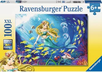 Ravensburger - Little Mermaid Puzzle 100pcs