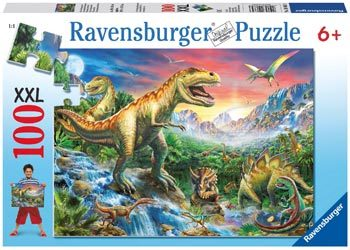 Ravensburger - Time of the Dinosaurs Puzzle 100pcs