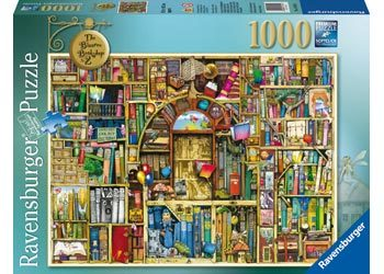 Ravensburger - The Bizarre Bookshop 2 Puzzle 1000pcs