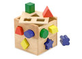 Wooden Shape Sorting Cube