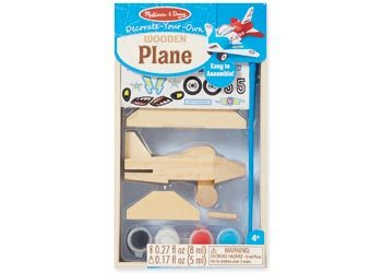 Wooden Plane: Decorate-your-own