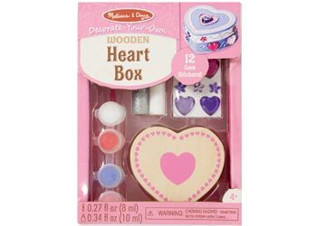 M&D - Wooden Heart Box - DYO