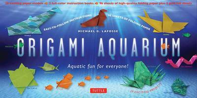 Origami Aquarium Kit : Aquatic Fun for Everyone!