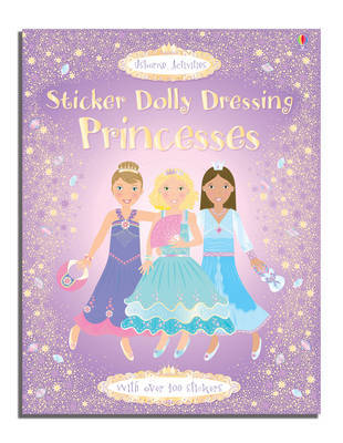 Princesses Sticker Dolly Dressing (Usborne)