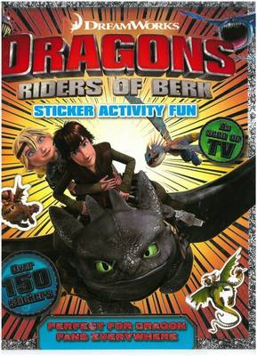 Dragon Riders of Berk Sticker and Activity Book