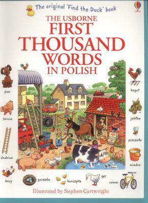 Usborne First Thousand Words in Polish