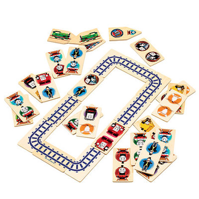 Wooden Dominoes & Track Puzzle (Thomas & Friends)
