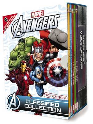 Avengers Chapter Book Box Set with Voice Changer