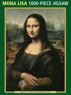 Mona Lisa 1000 piece jigsaw