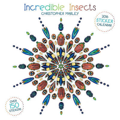 Marley/Incredible Insects 2016 Sticker Calendar