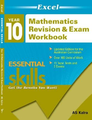 Year 10 Mathematics Revision & Exam Workbook - Excel - Essential Skills - Pascal