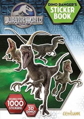 Jurassic World: Mega Sticker Book