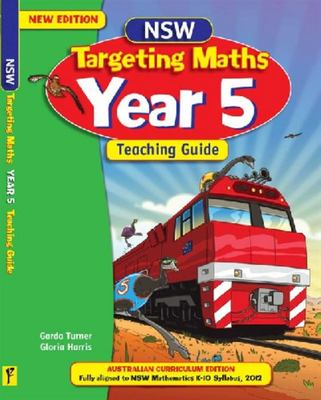 NSW Targeting Maths Year 5 Teaching Guide Australian Curriculum Edition