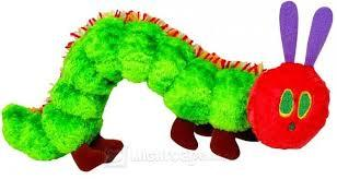 The Giant Very Hungry Caterpillar Plush, 1.55m
