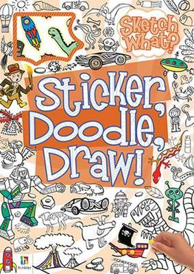 Sticker, Doodle, Draw! Series Assorted