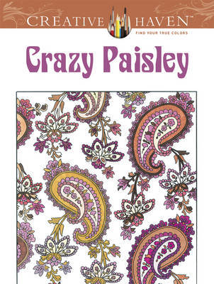 Crazy Paisley Colouring Book