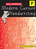 New Improved Modern Cursive Handwriting Prep - Oxford