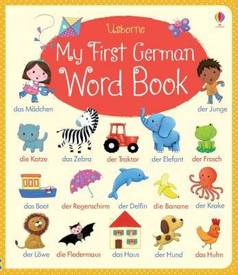 German (My First Word Book)