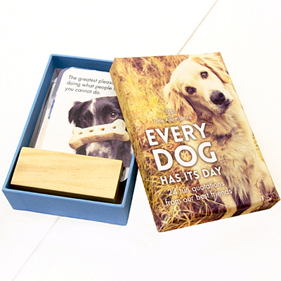 Every Dog Has Its Day: Box of 24 Fun Quotations From Our Furry Friends (Little Affirmation Cards)