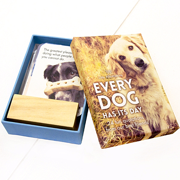 Every Dog Has Its Day Box Of 24 Fun Quotations From Our Furry