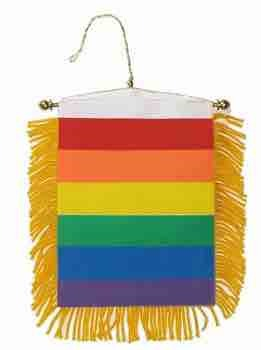 Banner - Mini Rainbow String & Sucker