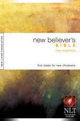 New Believer's New Testament-NLT (Black Letter Edition)