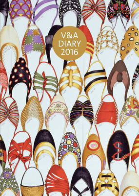 2016 V&A Desk Diary - Shoes: Pleasure and Pain