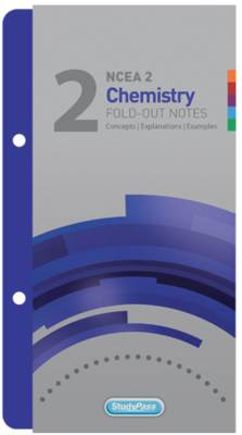 StudyPass NCEA Level 2 Chemistry Fold-out Notes