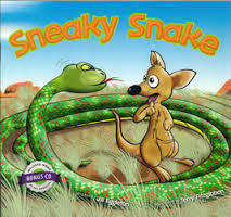 Sneaky Snake Book & CD