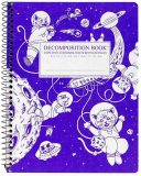 NOTEBOOK - Kittens in Space Coilbound Decomposition Book Ruled